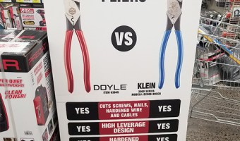 Harbor Freight Doyle Beats Klein Advertisement