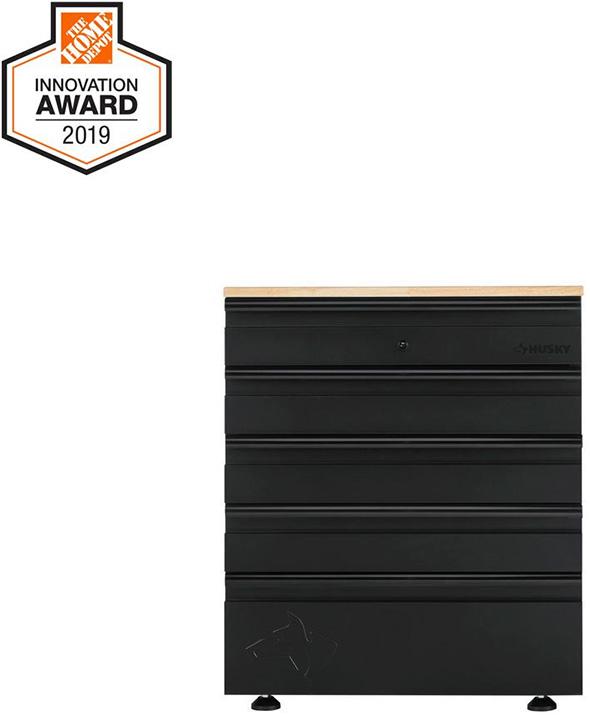 Home Depot Innovation Award 2019 Husky Garage Tool Storage