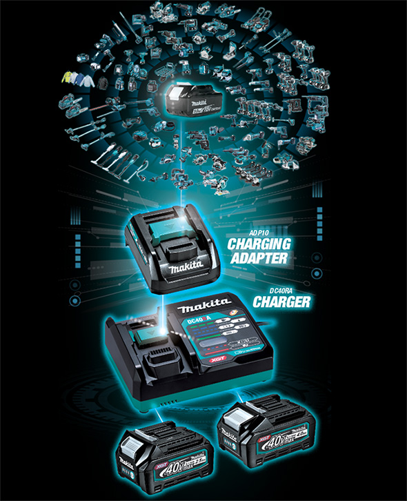 Makita XGT Charging Adapter for 18V LXT