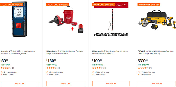 Milwaukee Cordless Power Tool Deals of the Day 10-7-19 Page 5