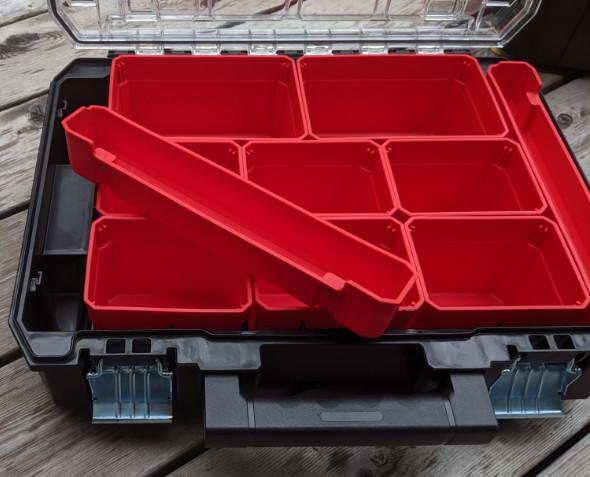 New Versastack clear organizer custom tray