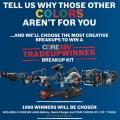 Bosch Cordless Power Tool Breakup Contest