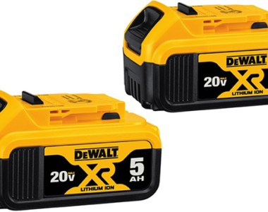 Dewalt 20V Max 5Ah Battery 2-Pack DCB205-2