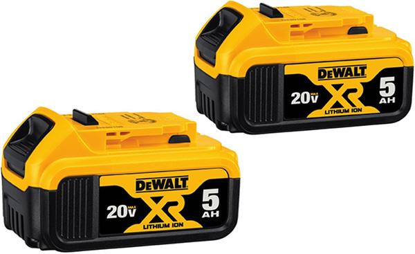 Dewalt 20V Max 5Ah Battery 2-Pack DCB205-2