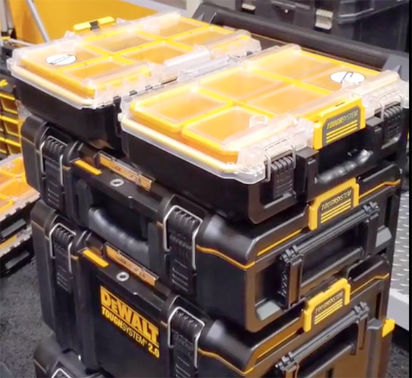Dewalt ToughSystem Gen-2 Half Size Tool Boxes