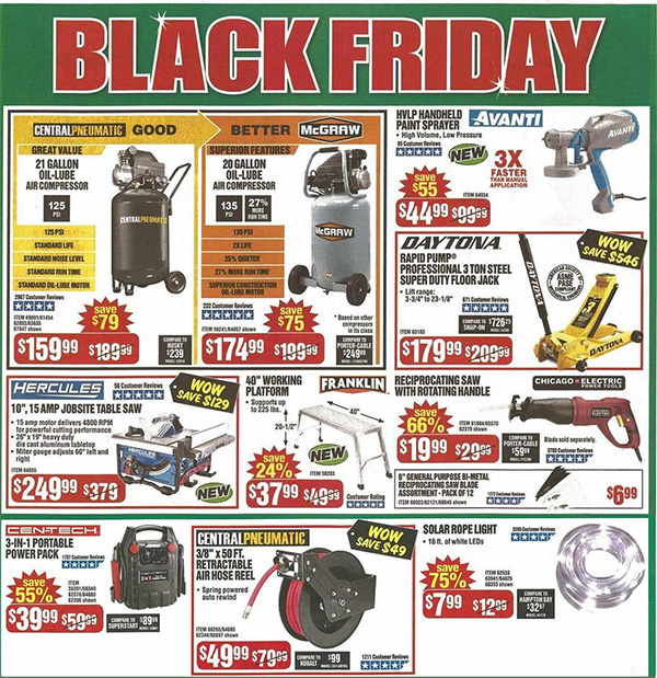 Harbor Freight Black Friday 2019 Tool Deals Page 3