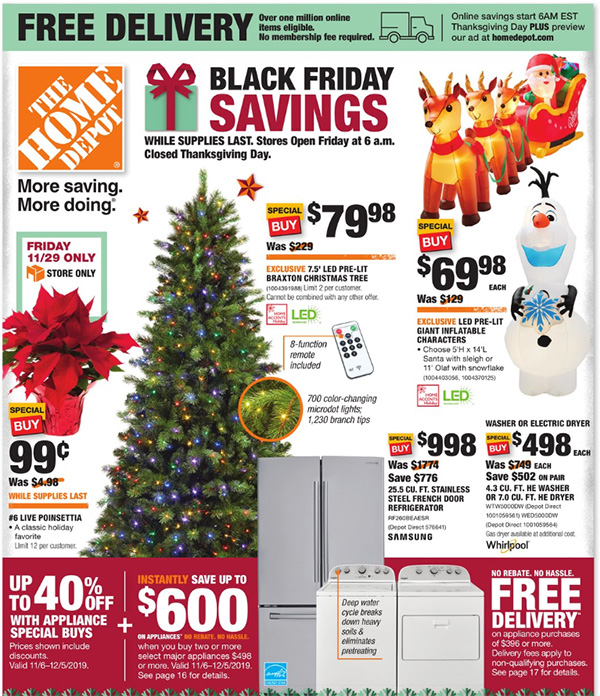 Home Depot Black Friday 2019 Official Tool Deals Page 1