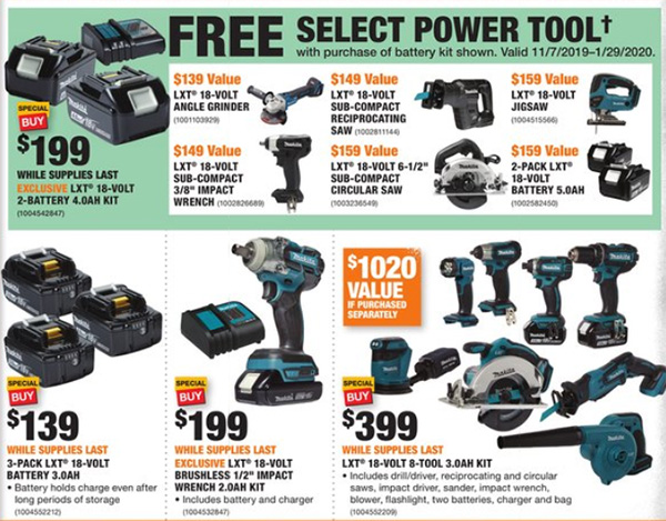 Home Depot Black Friday 2019 Official Tool Deals Page 10