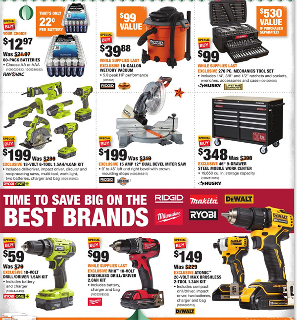 Home Depot Black Friday 2019 Official Tool Deals Page 2
