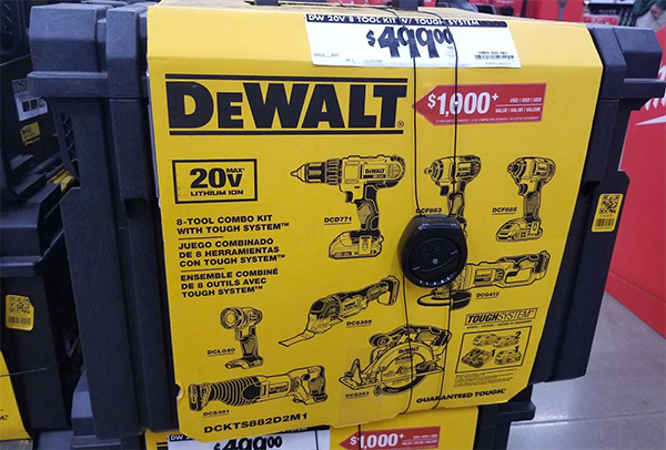 Home Depot Pro Black Friday 2019 Dewalt 8-Tool Cordless Power Tool Combo Deal