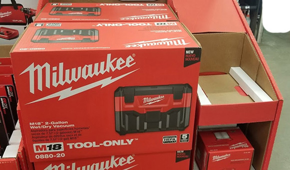 Home Depot Pro Black Friday 2019 Milwaukee M18 Vacuum Deal