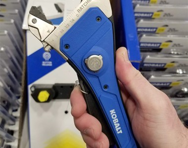 Kobalt Ratcheting Rapid Adjust Wrench
