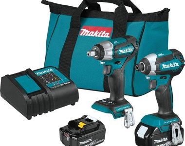 Makita XT284SX1 18V Brushless Impact Wrench and Impact Driver Combo Kit