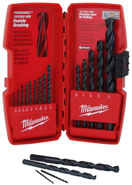Milwaukee 15-Piece Thunderbolt Drill Bit Set