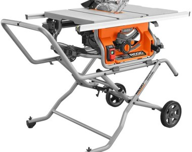 Ridgid R4514 Table Saw with Rolling Stand Home Depot Pro Black Friday 2019 Deal