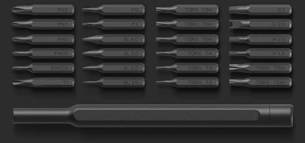 Wiha 24 in 1 Precision Screwdriver Set - Details