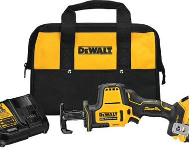 Dewalt DCS369P1 Atomic Reciprocating Saw Kit