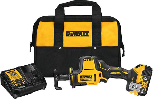 Dewalt DCS369P1 Atomic Reciprocating Saw Kit