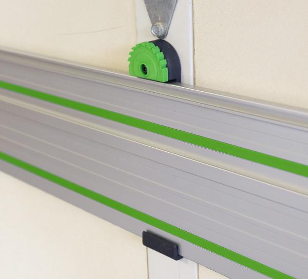 Fastcap Track Saw Rack - Installed