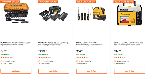 Dewalt Cordless Power Tool Deals Day 2-17-20 Page 8