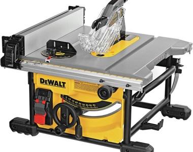 Dewalt DWE7485 Portable Table Saw