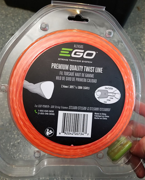 EGO Imported Trimmer Line Pre-Cut