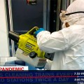 Ryobi Cordless Fogger in Use During COVID-19 Pandemic