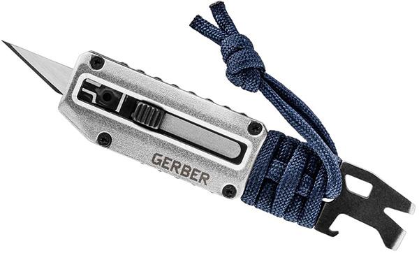 Gerber Prybid X Pocket Knife Tool Blue and Silver