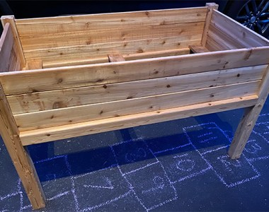 Greenes Cedar Elevated Planter Box
