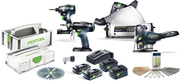 Festool 18V Cordless Power Tools