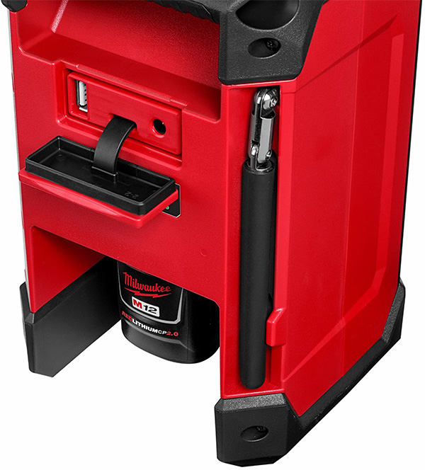 Milwaukee 2951-20 M12 Radio and Charger Rear Ports