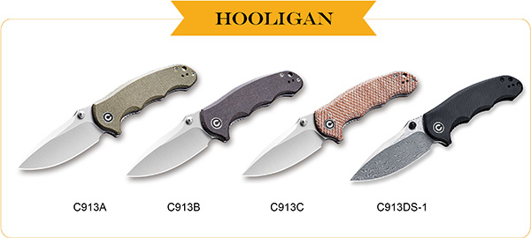 Civivi Hooligan EDC Pocket Knife Family