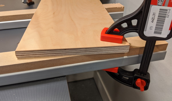 The 2096 Bench System - Sacraficial Fence for Clamping