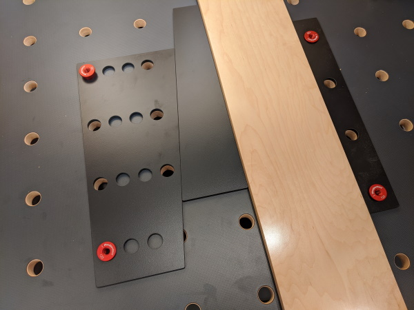 The 2096 Bench System - Woodpeckers 2096 Workholding Kit