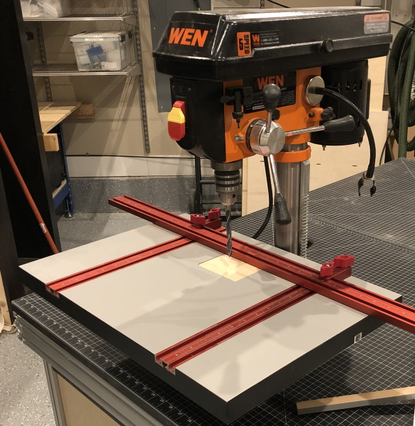 Woodpecker Pro Drill Press Table - My DIY Drill Press