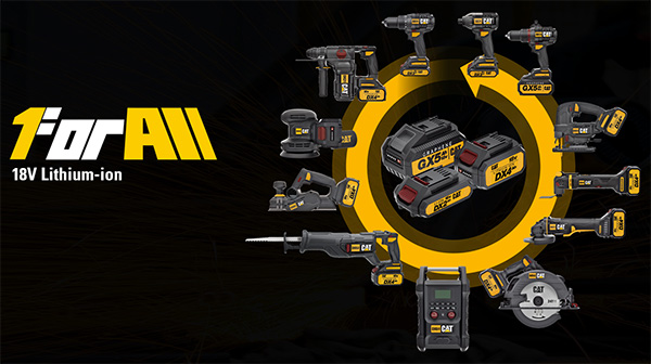 CAT 18V Cordless Power Tools 1 for All