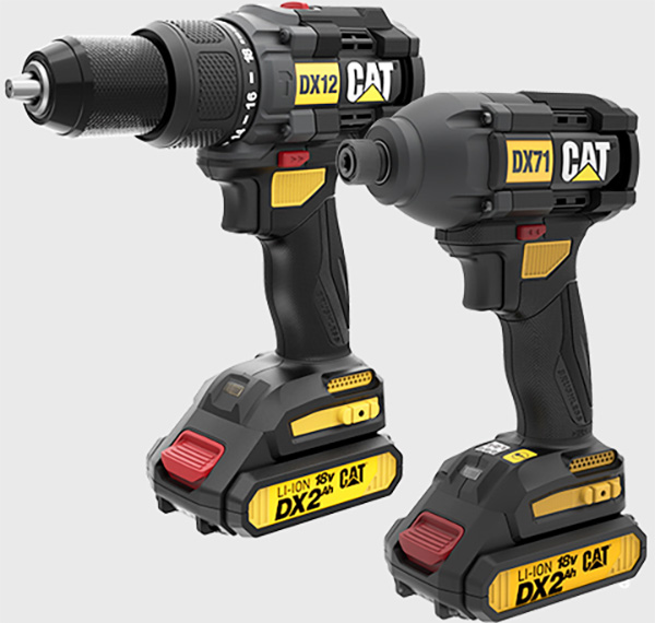 CAT Cordless Drill and Impact Driver