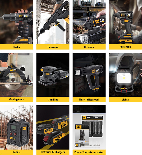 CAT Cordless Power Tool 18V System