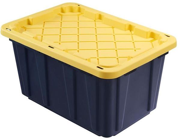 Husky 27 Gallon Storage Tote