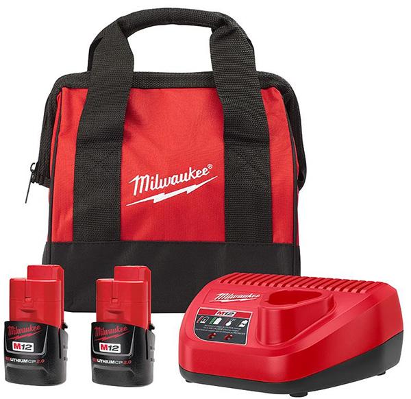 Milwaukee M12 Cordless Power Tool Starter Kit