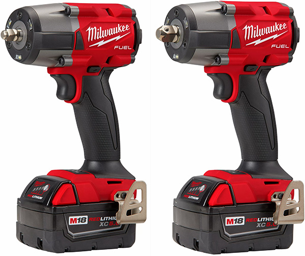 Milwaukee M18 Fuel Mid-Torque Impact Wrenches 2960-2962