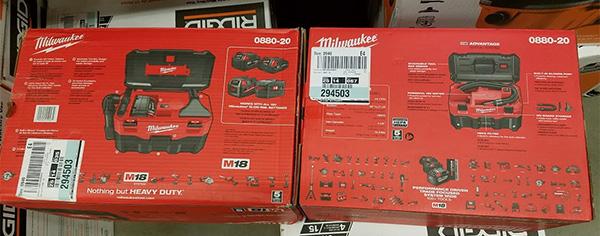 Milwaukee Tool M18 0880-20 Cordless Wet-Dry Vacuum 2017 Update
