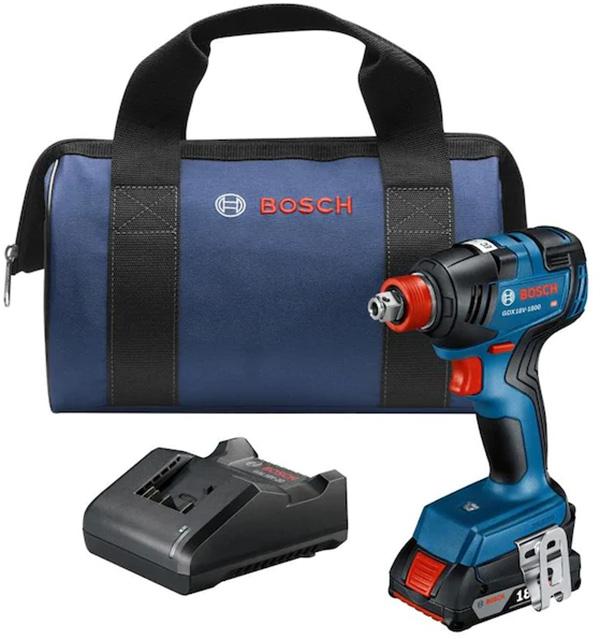 Bosch GDX18V-1800B12 Cordless 18V Freak Impact Kit