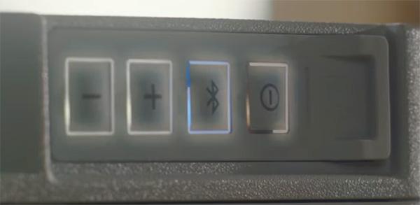 Festool TopRock Systainer Bluetooth Speaker Illuminated Buttons