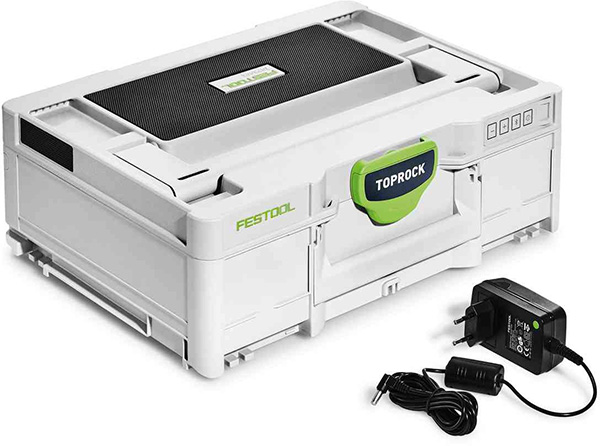 Festool TopRock Systainer Bluetooth Speaker with Charger
