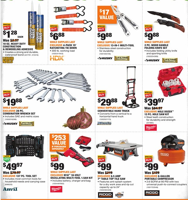 Home Depot Black Friday 2020 Tool Deals Page 4