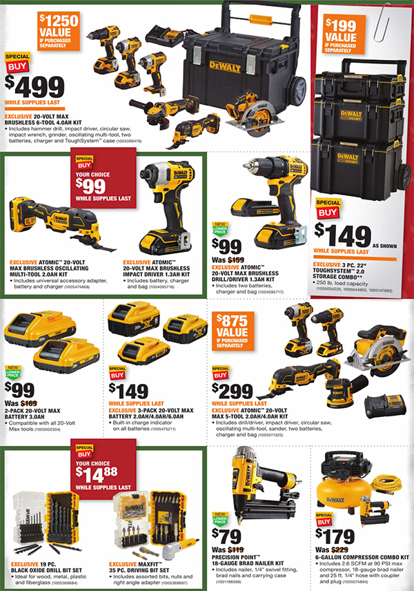 Home Depot Black Friday 2020 Tool Deals Page 8