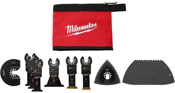 Milwaukee Oscillating Multi-Tool Blade Set - Holiday 2020 Promo