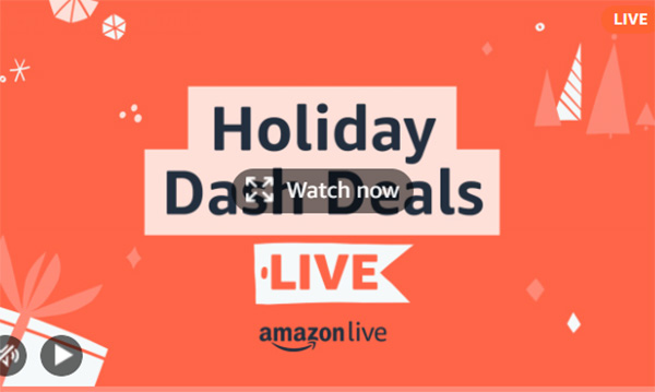Amazon Dash Deals Holiday 2020