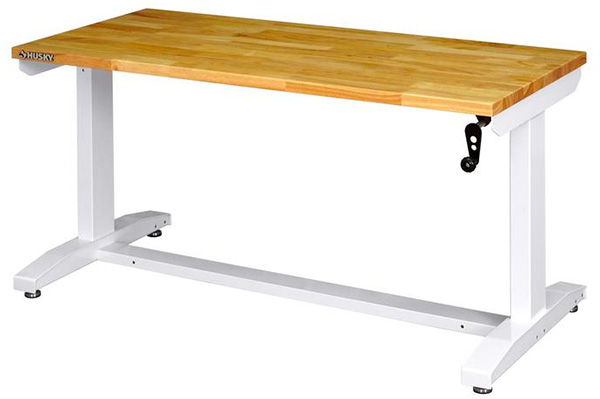 Husky Workbench White from Home Depot